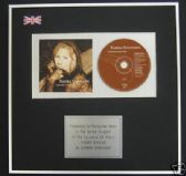 BARBRA STREISAND - CD Album Award - HIGHER GROUND